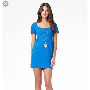 """DVF Blue """"Linnie"""" Dress, size 0"""